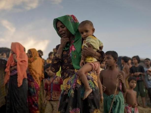 """Rede vor UN-Versammlung: Rohingya-Krise:Myanmar bestreitet """"ethnische Säuberung"""""""