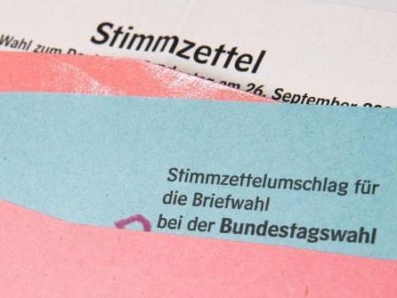 Gut zwei Millionen zur Bundestagswahl aufgerufen