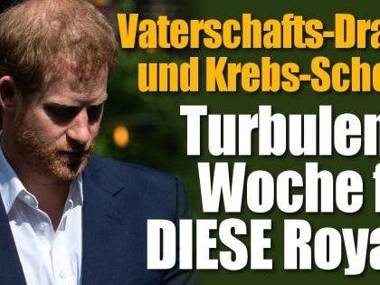 Prinz Harry, Meghan Markle, Queen Elizabeth II.: Vaterschafts-Drama und Krebs-Schock! DIESE Royal-News erschüttern