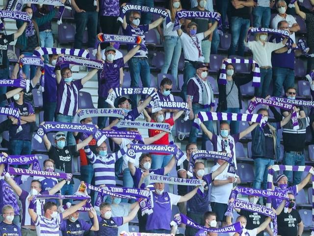 7156 Fans dürfen den VfL Osnabrück gegen den MSV Duisburg unterstützen