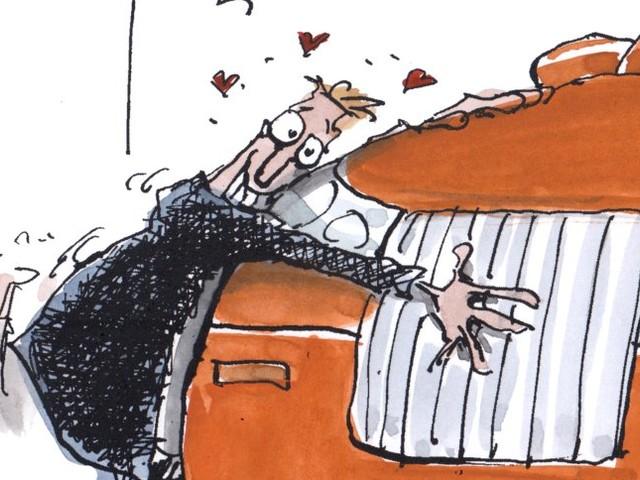 Cartoons der Woche: Die Liebe und der SUV