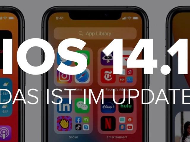 Apple iOS 14.1: Das ist im Update
