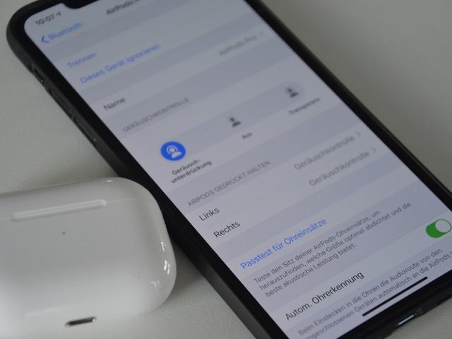 iOS 15.1 behebt Probleme mit der Siri-Steuerung der AirPods Pro