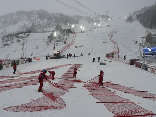 Slalom der Herren in Val d'Isère abgesagt