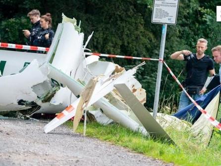 Zwei Tote bei Absturz zweier Segelflieger im Münsterland