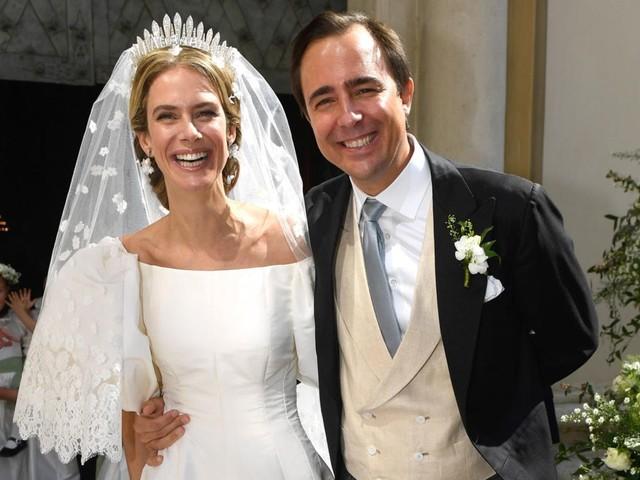 Brautmode: Prinzessin Maria-Anunciata trägt gleich zwei Traumkleider
