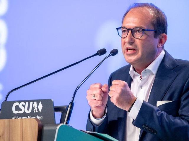 """""""Kein guter Stil"""": Dobrindt meckert über Ampel-Parteien"""