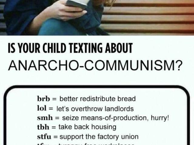 Obacht! Textet Dein Kind über Kommunismus?