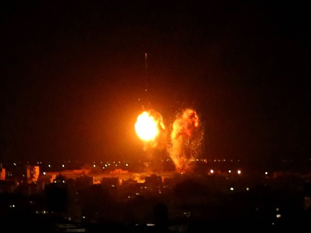 Israel fliegt neue Luftangriffe