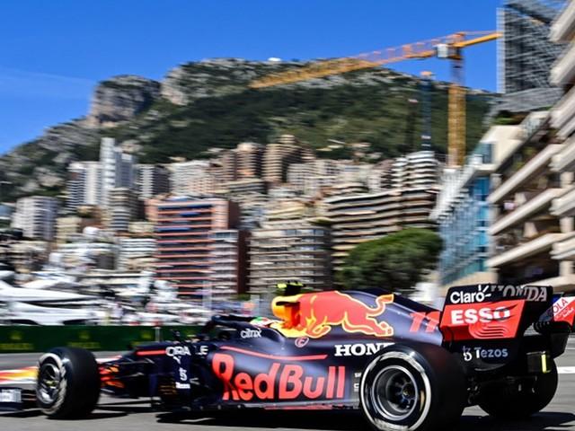 Formel 1: Perez-Bestzeit in Monaco mit eingeschränktem Wert