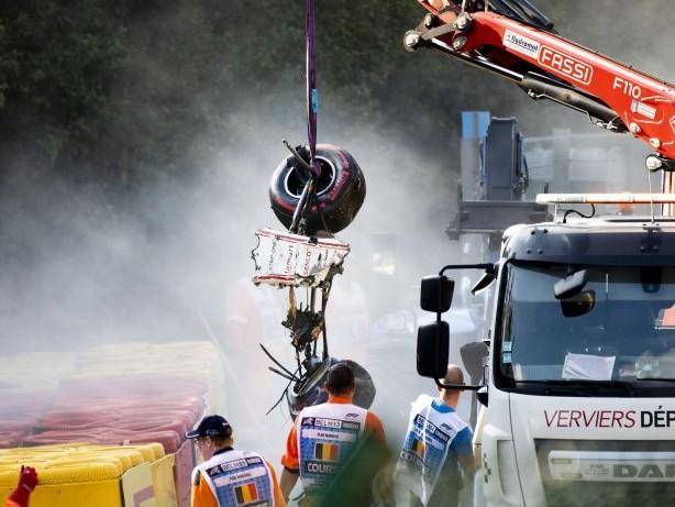 Unfallfolgen: Formel-2-Pilot Correa nicht mehr im Koma – Sorge um Bein