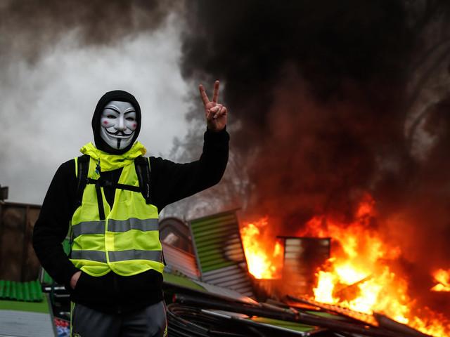 """""""Gelbwesten"""" setzen Macron unter Druck: Wieso die Querfront vom Umbruch träumt"""