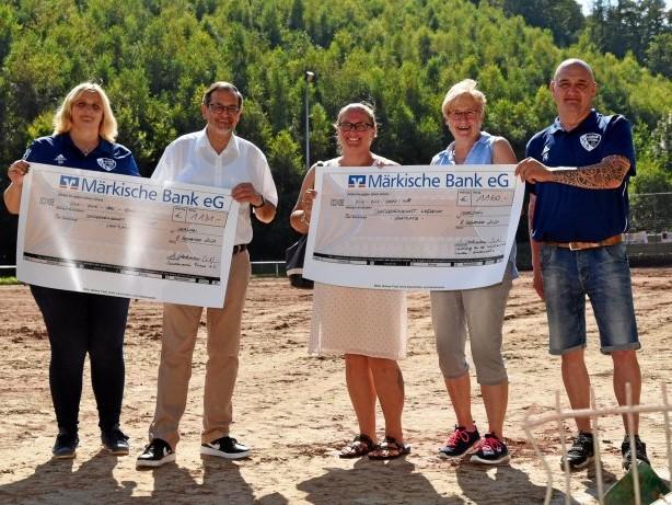 Spendenaktion: Flut in Lasbeck – Siedler aus Sachsen revanchieren sich