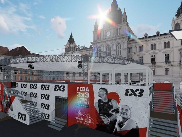 In Graz entsteht eine einzigartige Arena für Basketballer