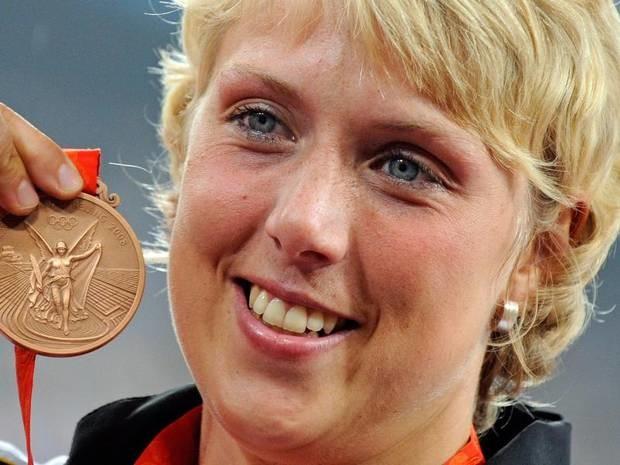Olympia in Peking 2008: Speerwerferin Obergföll bekommt nachträglich Silber