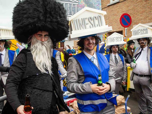 Unesco reagierte schon letztes Jahr: Erneut antisemitische Motive bei belgischem Karnevalsumzug
