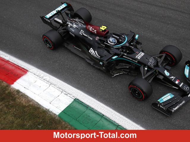 F1-Qualifying Monza: Bottas erobert ohne Windschatten Freitagspole