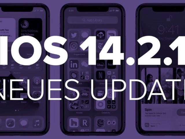 iOS 14.2.1: Neues Update für iPhone-12-Familie