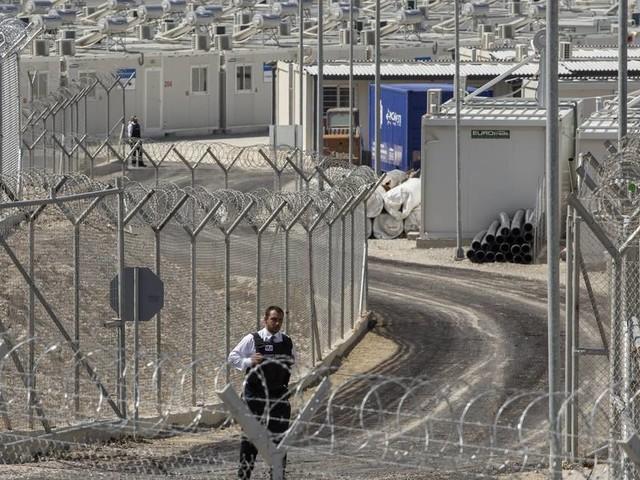 "Kritik von Menschenrechtsgruppen: Neues ""geschlossenes"" Flüchtlingslager auf griechischer Insel Samos eröffnet"