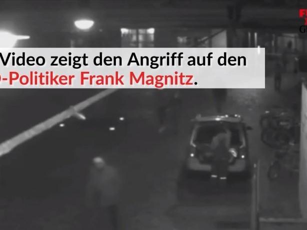 Video zeigt Angriff auf den AfD-Politiker Frank Magnitz