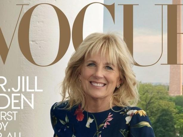 Weißes Haus: USA: First Lady Jill Biden posiert für Modezeitschrift