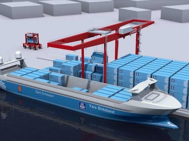 Es ersetzt 40.000 Lkw-Fahrten: Norwegen arbeitet an E-Frachtschiff