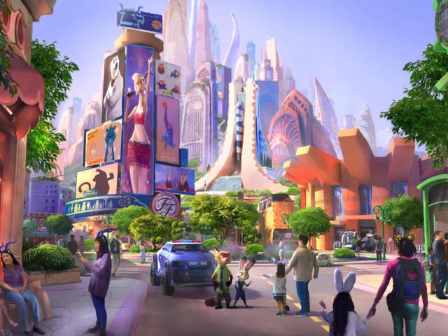 Zoomania-Themenland für Shanghai Disneyland offiziell angekündigt