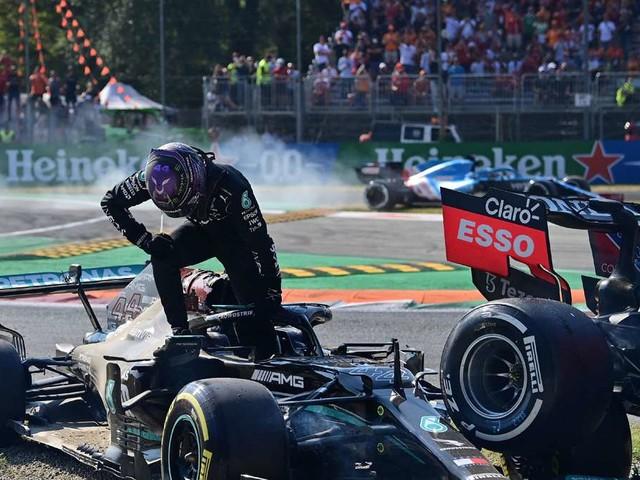 Überraschungs-Doppelsieg in Monza - heftiger Crash zwischen Verstappen und Hamilton