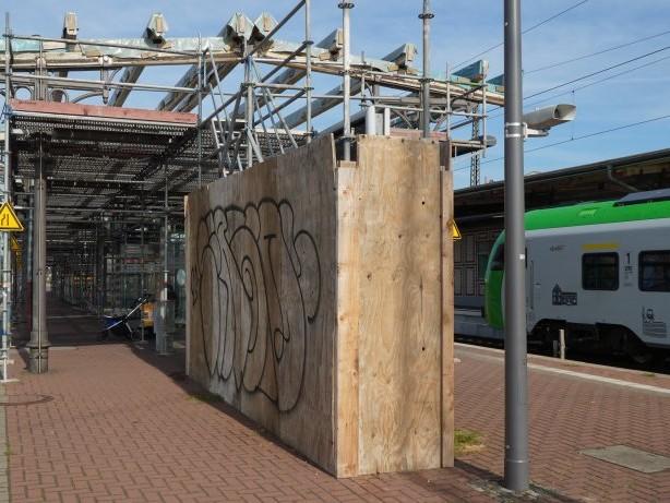 Bahnhof Witten: Start der Bauarbeiten im Bahnhof