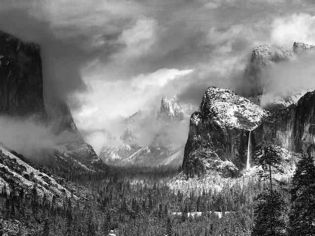 Landschaftsfotografie: Mit diesen Fotos hat Ansel Adams das Yosemite Valley weltberühmt gemacht