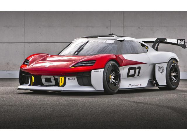 """Porsche Mission R: Im """"ersten"""" Gang bis Tempo 300"""