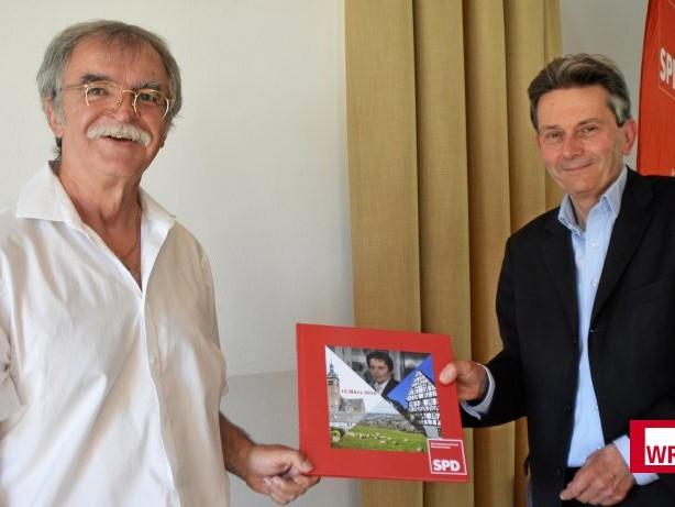 Politik: Neunkirchen: SPD-Fraktionschef aus dem Bundestag zu Besuch