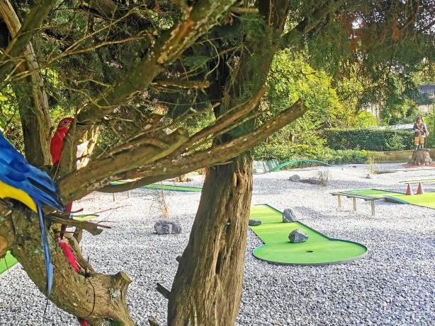 Freizeit: Neue Piraten-Minigolfanlage am Hohenstein hat eröffnet