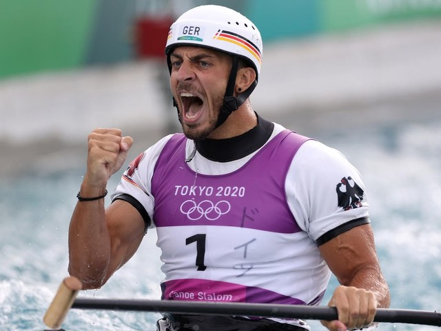 Dritte Olympia-Medaille: Slalom-Kanute Sideris Tasiadis erkämpft Olympia-Bronze in Tokio