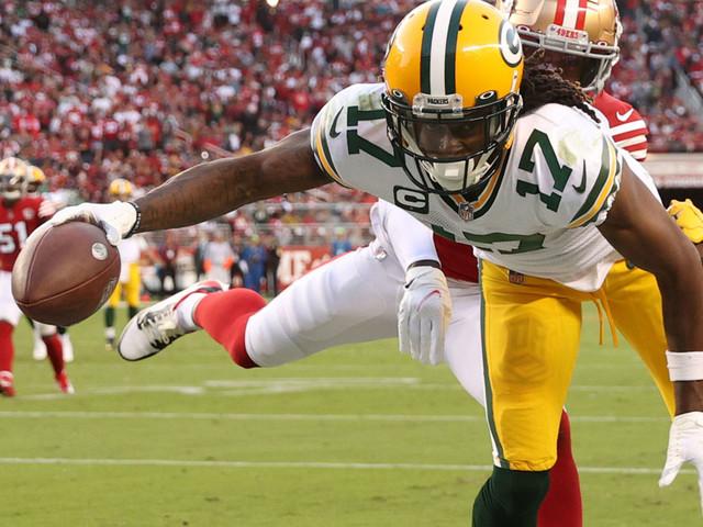 NFL: Rodgers und Adams bescheren Packers Last-Second-Triumph in der Bay Area