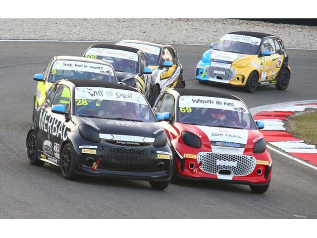 Smart EQ Fortwo E-Cup: Verrückter Stromer-Markenpokal