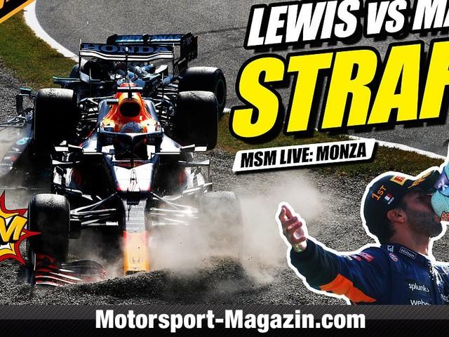 Video: Nach Hamilton-Crash: Strafe für Max Verstappen!