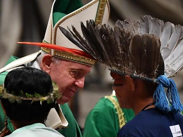 """Synode im Vatikan: Papst geißelt """"zerstörerische Interessen"""" am Amazonas"""