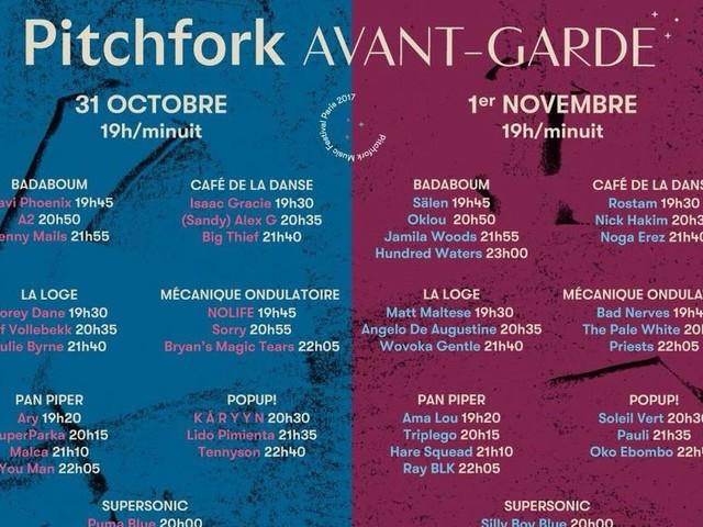 Les concerts de la semaine à Paris du 30 octobre au 5 novembre 2017