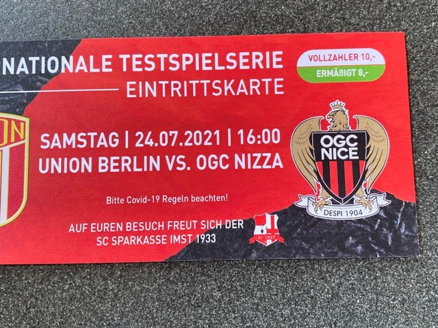 Union-Fans sauer! Falsches Logo auf Eintrittskarte