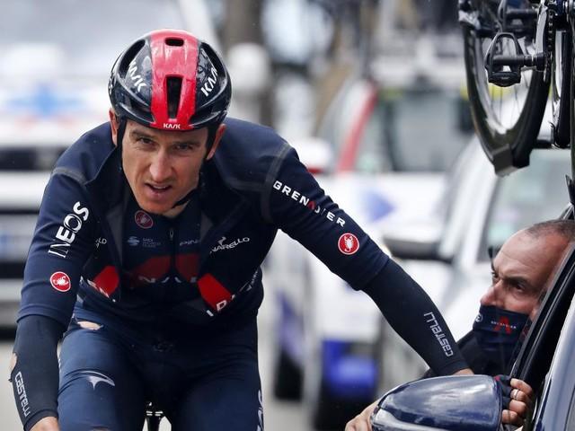 Mitfavorit Geraint Thomas ist bei Tour de France gestürzt