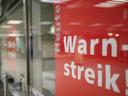 Tarifrunde - Warnstreiks im öffentlichen Dienst