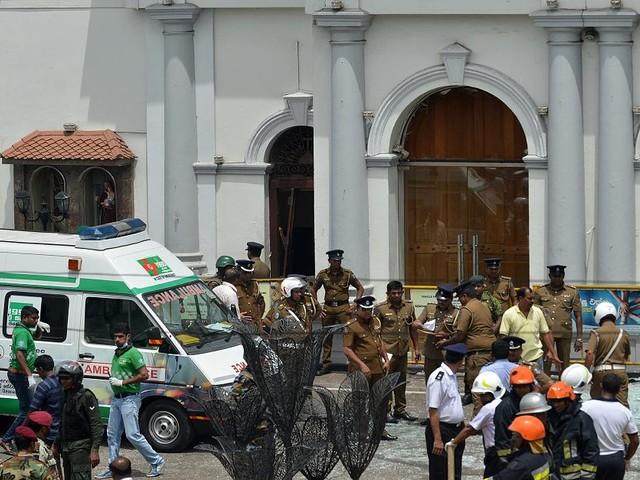 Oster-Horror - Sri Lanka: Explosionen in Kirchen und Luxus-Hotels - 50 Tote
