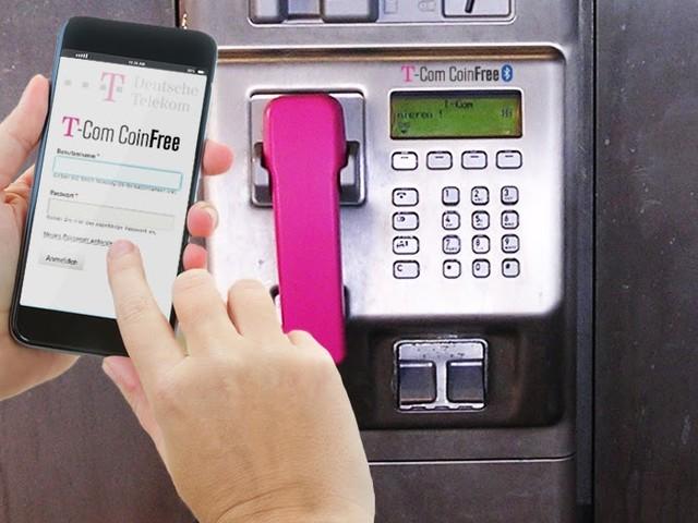 Münztelefone ab sofort auch bargeldlos per Handy bezahlbar