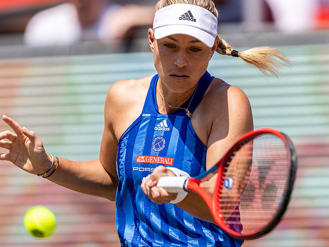 Tennis: Kerber im Eiltempo ins Viertelfinale