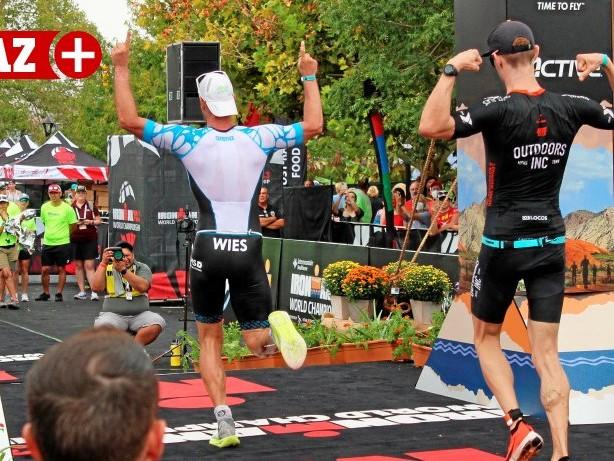 Triathlon: Podestplatz für Sven Wies bei der Ironman-Weltmeisterschaft