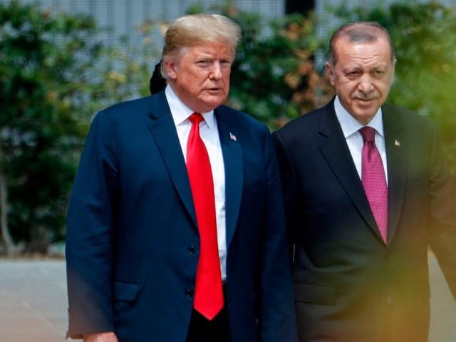 """Sei kein harter Kerl. Sei kein Narr!"", schrieb Trump an Erdogan"