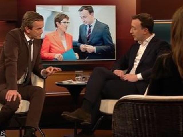 """Ziemiak windet sich in Merz-Diskussion – Lanz kontert: """"Das ist doch ein Witz!"""""""