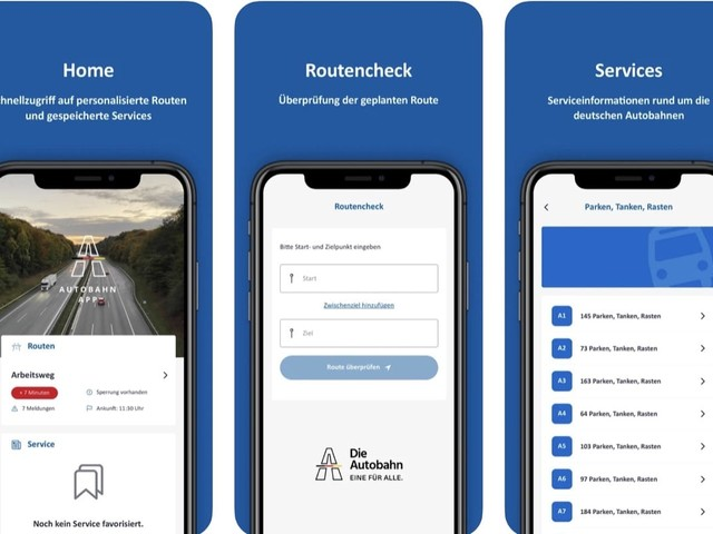 Autobahn-App für Android und iOS erschienen