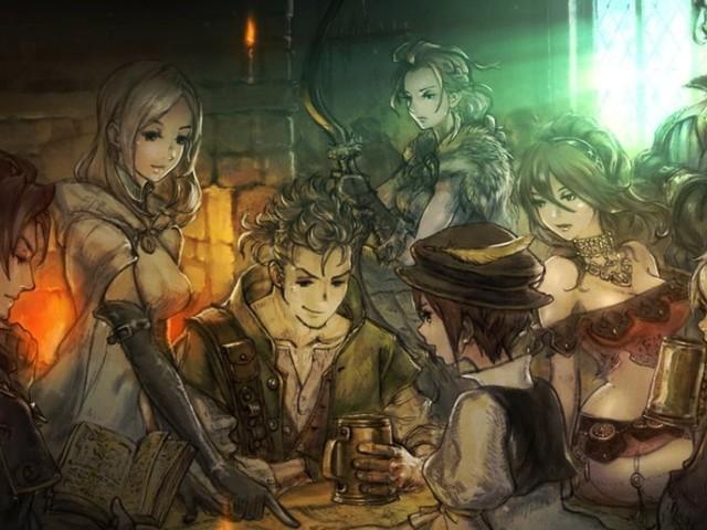 Project Octopath Traveler: Details zum Rollenspiel der Bravely-Default-Macher für Switch; Demo verfügbar